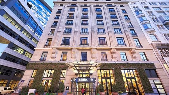 靛藍布魯塞爾城市酒店