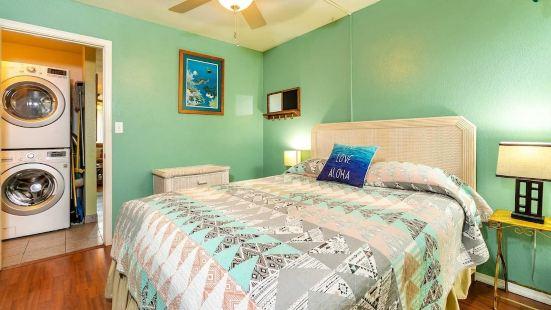 基黑假日公寓 #120 2 室 1 衞公寓式客房酒店