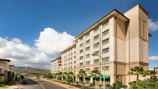 卡珀累歐胡島 - 希爾頓大使館套房酒店 - 供應免費早餐