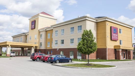 印第安納波利斯機場附近凱富全套房酒店