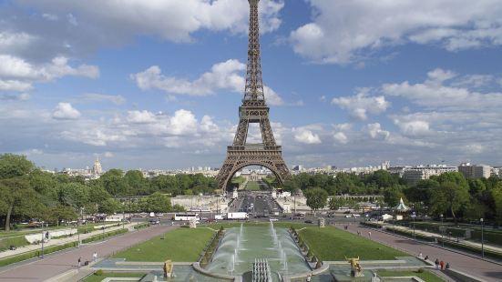 巴黎埃菲爾鐵塔米拉波橋美居酒店