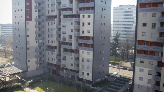 米蘭比可卡公寓酒店