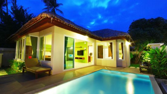 活躍泳池別墅飯店