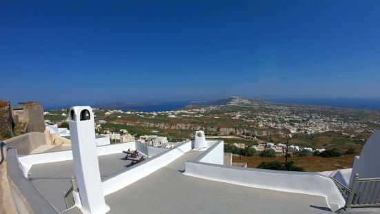 Santorini 180 Degrees