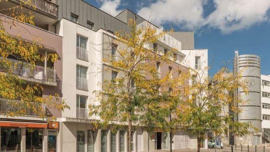 城市公寓南特西德康格雷酒店