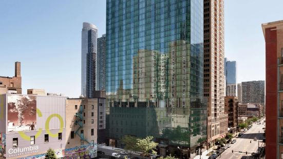 芝加哥市區南盧佩希爾頓欣庭酒店