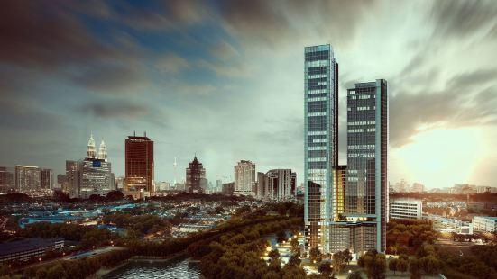吉隆坡市中心柒小匙無邊泳池公寓