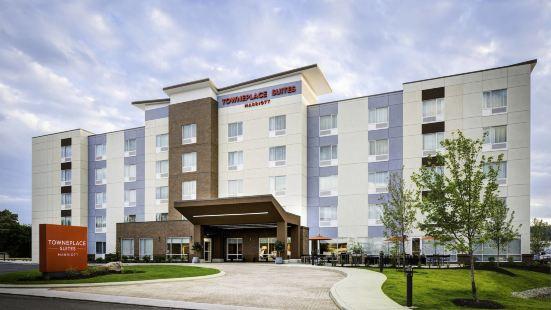 堪薩斯城布雷克利夫萬豪唐普雷斯套房酒店