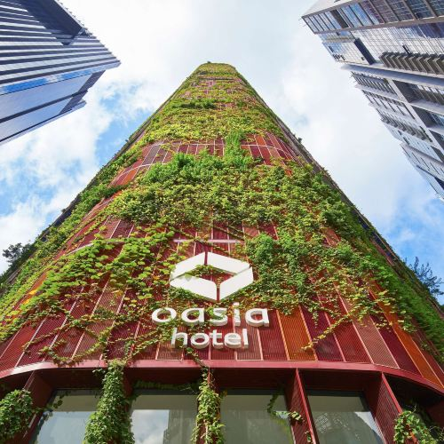 Oasia Hotel Downtown, Singapore by Far East Hospitality  (Staycation Approved)