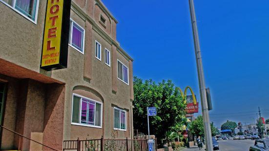 洛杉磯市中心安東尼奧酒店 - 近荷里活