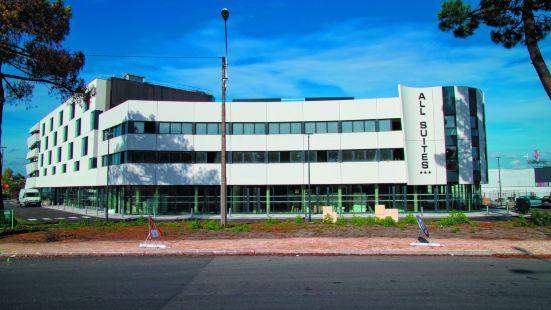 波爾多帕薩克公寓式酒店