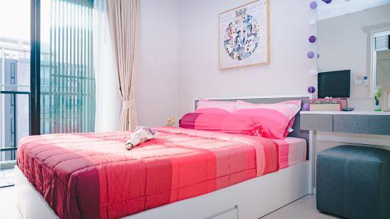 核心地段 寧曼路 小清新 高端公寓小資情調