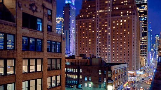 新紐約曼哈頓萬豪唐普雷斯套房酒店