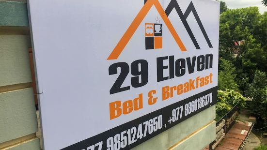 29 Eleven Bed and Breakfast
