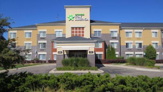 底特律奧本希爾斯大學路美國長住酒店